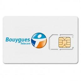 Carte SIM BOUYGUES